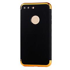Недорогие Кейсы для iPhone 6 Plus-Кейс для Назначение Apple iPhone 8 iPhone 8 Plus Покрытие Задняя крышка Сплошной цвет Мягкий TPU для iPhone 8 Pluss iPhone 8 iPhone 7
