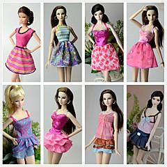 abordables Ropa para Barbies-Princesa Disfraces por Muñeca Barbie  Poliéster Faldas Top Vestido Pantalones por Chica de muñeca de juguete