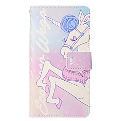 cheap iPhone 6s Cases-Case For Apple iPhone X iPhone 8 Plus Card Holder Wallet with Stand Flip Magnetic Full Body Cases Unicorn Hard PU Leather for iPhone X