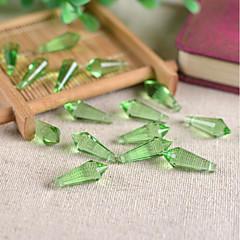 olcso Gyöngyök-DIY ékszerek 10 Perlice Bíbor Rózsaszín Barna Zöld Világoskék Függők Üveg üveggyöngy 0.8 cm DIY Karkötők Nyakláncok