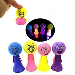 お買い得  ライトアップおもちゃ-LED照明 おもちゃ 円筒形 クラシックテーマ 童話テーマ きらきら ソフトプラスチック 小品