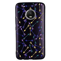 Недорогие Чехлы и кейсы для Motorola-Кейс для Назначение Motorola G5 Plus G5 С узором Кейс на заднюю панель 3D в мультяшном стиле Мягкий ТПУ для Мото G5 Plus Moto G5 Мото G4