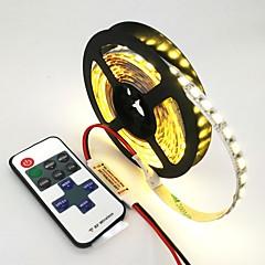 voordelige Verlichtingssets-ZDM® 120 LEDs 1M LED Strip Light 1 11-toetsen afstandsbediening Warm wit Koel wit Blauw Knipbaar Zelfklevend Koppelbaar DC 12V