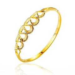 preiswerte Armbänder-Damen Armreife - vergoldet Einfach, Grundlegend Armbänder Gold Für Party / Verlobung