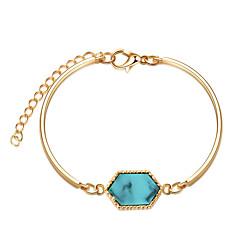 preiswerte Armbänder-Damen Armreife / Armband - Harz, vergoldet Mehrfarbig Armbänder Grün / Blau / Dark Gray Für Geburtstag / Geschenk