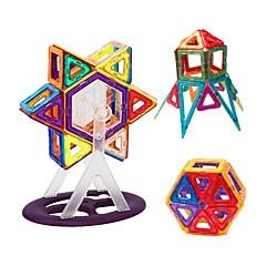 hesapli -Manyetik Blok Oyuncaklar transformable Yumuşak Plastik 62 Parçalar