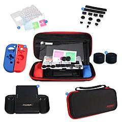 abordables Accesorios para Nintendo Switch-Other Bolsos, Cajas y Cobertores / Protectores de Pantalla Para Interruptor de Nintendo ,  Alta Definición / Cobertor Posterior / Antiarañazos Bolsos, Cajas y Cobertores / Protectores de Pantalla