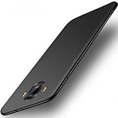 Недорогие Чехлы и кейсы для Huawei Mate-Кейс для Назначение Huawei Mate 10 pro Mate 10 lite Ультратонкий Кейс на заднюю панель Сплошной цвет Твердый ПК для Mate 10 Mate 10 pro