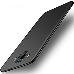 tanie Etui / Pokrowce do Huawei-Kılıf Na Huawei Mate 10 pro Mate 10 lite Ultra cienkie Czarne etui Solid Color Twarde PC na Mate 10 Mate 10 pro Mate 10 lite Mate 9 Mate