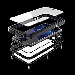 Недорогие Кейсы для iPhone X-Кейс для Назначение Apple iPhone X iPhone X Вода / Грязь / Надежная защита от повреждений Чехол броня Твердый Металл для iPhone X