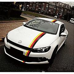 abordables Accesorios exteriores automotrices-50 * 15 cm pegatinas de calcomanías de color de la bandera alemana para coches&camiones