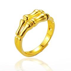 olcso Gyűrűk-Férfi Női mandzsetta Ring , hiphop Gótikus Arannyal bevont Szabálytalan Ékszerek Halloween Utca
