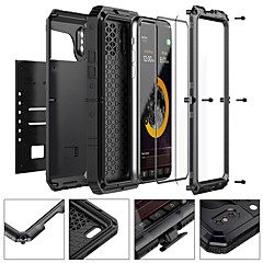 abordables Fundas para iPhone 5S / SE-Funda Para Apple iPhone X / iPhone 8 Agua / Polvo / prueba del choque Funda de Cuerpo Entero Armadura Dura Metal para iPhone X / iPhone 8 Plus / iPhone 8