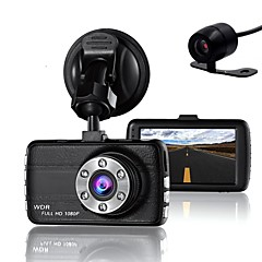 cheap Car Electronics-848 x 480 1280 x 720 1440 x 1080 1920 x 1080 Car DVR 3 inch Dash Camforuniversal Loop-cycle Recording