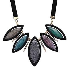 preiswerte Halsketten-Damen Statement Ketten - Europäisch, Modisch Purpur, Regenbogen, Hellblau Modische Halsketten Für Geschenk, Party