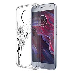 Недорогие Чехлы и кейсы для Motorola-Кейс для Назначение Motorola E4 Plus 5 С узором Кейс на заднюю панель одуванчик Мягкий ТПУ для Moto X4 Moto E4 Plus Moto E4