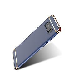 Недорогие Чехлы и кейсы для Galaxy Note 5-Кейс для Назначение Samsung Note 8 Note 5 Ультратонкий Оригами Кейс на заднюю панель Сплошной цвет Твердый ПК для Note 8 Note 5