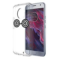 Недорогие Чехлы и кейсы для Motorola-Кейс для Назначение Motorola E4 Plus 5 С узором Кейс на заднюю панель Мультипликация Мягкий ТПУ для Moto X4 Moto E4 Plus Moto E4