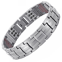 preiswerte Armbänder-Herrn Ketten- & Glieder-Armbänder / Hologramarmband / Magnetisches Armband - Armbänder Gold / Schwarz / Silber Für Normal / Alltag