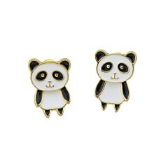 abordables Bijoux pour Femme-Femme Boucles d'oreille goutte - Panda simple, Basique Blanc Pour Quotidien Rendez-vous