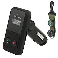 abordables Kit de Bluetooth/Manos Libres para Coche-Coche V3.0 Reproductor MP3 Manos libres del coche