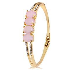 preiswerte Armbänder-Damen Opal Kubikzirkonia Geometrisch Armreife - Roségold, Zirkon, Opal Modisch, Elegant Armbänder Gold Für Party Formal
