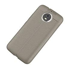 Недорогие Чехлы и кейсы для Motorola-Кейс для Назначение Motorola G5 Plus Ультратонкий Кейс на заднюю панель Сплошной цвет Мягкий ТПУ для Moto G5s Plus Moto G5s Мото G5 Plus