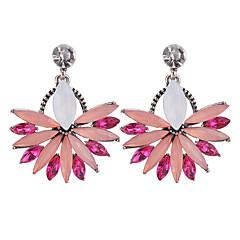 preiswerte Ohrringe-Damen Opal Tropfen-Ohrringe - Opal, Diamantimitate Modisch Weiß / Blau / Rosa Für Party / Ausgehen