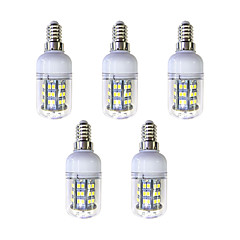 preiswerte LED-Birnen-5 Stück 3W 240 lm E12/E14 48 Leds SMD 2835 LED-Lampe Weiß Wechselstrom 220-240V