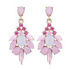 preiswerte Ohrringe-Damen Opal Kristall Tropfen-Ohrringe - Opal, Diamantimitate Tropfen Modisch, Elegant Grau / Rosa / Leicht Grün Für Party Abiball