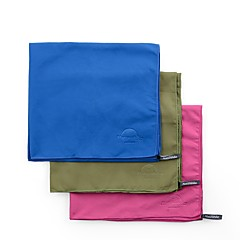 abordables Comodidad de Viaje-Acampada y Senderismo / Secado rápido / Suave 130*73cm Camping y senderismo Un Color