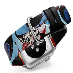 abordables Bracelets Apple Watch-Bracelet de Montre  pour Apple Watch Series 3 / 2 / 1 Apple Boucle Moderne Vrai Cuir Sangle de Poignet