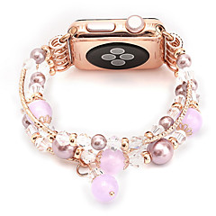 voordelige Apple Watch-bandjes-Horlogeband voor Apple Watch Series 3 / 2 / 1 Apple Sieradenontwerp Keramiek Polsband