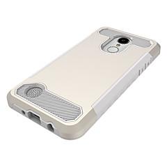 Недорогие Чехлы и кейсы для LG-Кейс для Назначение LG V30 StyLo 3 Защита от удара Кейс на заднюю панель Сплошной цвет Твердый ПК для LG V30 LG StyLo 3 LG K10 (2017)