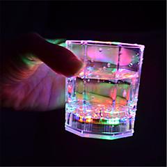 tanie -1szt Noc LED Light Wielokoloroe Przycisk Zasilany baterią Bezprzewodowy Zmieniająca Kolor