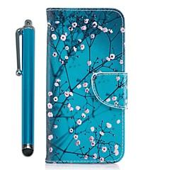 billige Galaxy S6 Edge Etuier-Etui Til Samsung Galaxy S9 S9 Plus Kortholder Pung Med stativ Flip Magnetisk Fuldt etui Sommerfugl Hårdt PU Læder for S9 Plus S9 S8 Plus