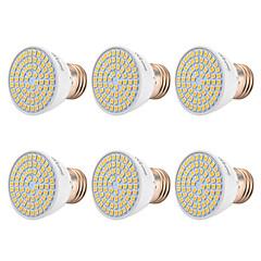 cheap LED Bulbs-YWXLIGHT® 6pcs 7W 500-700lm E26 / E27 LED Spotlight 72 LED Beads SMD 2835 Warm White Cold White Natural White 110-130V 220-240V