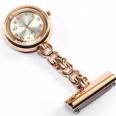 preiswerte Damenuhren-Damen Paar Modeuhr Taschenuhr Halskettenuhr Quartz Silber / Gold / Rose Armbanduhren für den Alltag Analog damas Luxus Modisch - Gold Silber Rose