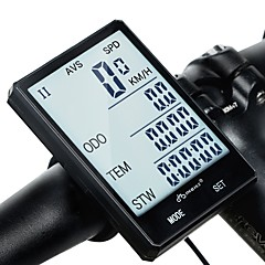 tanie Liczniki rowerowe-inbike CX-9 2.8'' Large Screen Komputer rowerowy Jazda na rowerze Stoper Wodoodporny Bezprzewodowy Rain-Proof Drogomierz Kolarstwie
