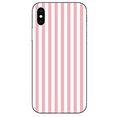 billige iPhone-etuier-Etui Til Apple iPhone X iPhone 8 Mønster Bagcover Linjeret / bølget Blødt TPU for iPhone X iPhone 8 Plus iPhone 8 iPhone 7 Plus iPhone 7