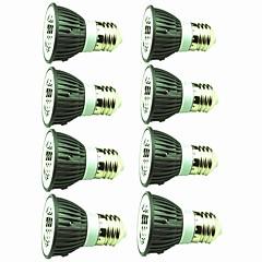 cheap LED Bulbs-8pcs 5W 450lm E14 E26 / E27 LED Spotlight 1 LED Beads COB Decorative Warm White Cold White 220-240V