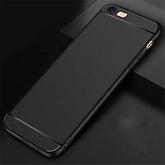 Недорогие Кейсы для iPhone-Кейс для Назначение Apple iPhone 6 iPhone 6 Plus Защита от удара Кейс на заднюю панель Сплошной цвет Мягкий Силикон для iPhone 6s iPhone 6