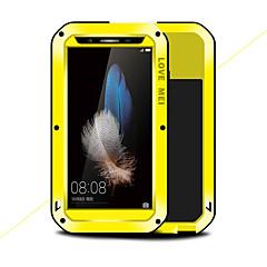Χαμηλού Κόστους Θήκες / Καλύμματα για Huawei-tok Για Huawei Enjoy 5S Ανθεκτική σε πτώσεις Νερού / Dirt / Shock Απόδειξη Πλήρης Θήκη Συμπαγές Χρώμα Σκληρή Μεταλλικό για Huawei Enjoy 5S
