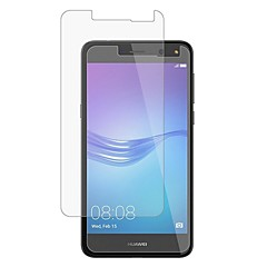 voordelige Screenprotectors voor Huawei-Screenprotector Huawei voor Huawei Y6 (2017)(Nova Young) Gehard Glas 1 stuks Voorkant screenprotector 2.5D gebogen rand 9H-hardheid