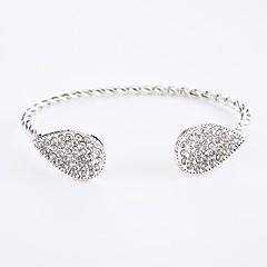 preiswerte Armbänder-Damen Kristall Manschetten-Armbänder - Krystall Tropfen Armbänder Gold / Silber Für Geschenk / Party