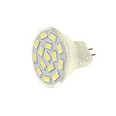 cheap LED Bulbs-SENCART 1pc 6pcs 6W 450 lm G4 MR11 LED Spotlight MR11 15 leds SMD 5630 Decorative Warm White White Green Yellow Blue 12-24V