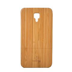 Недорогие Чехлы и кейсы для Xiaomi-Кейс для Назначение Xiaomi Mi 4 Защита от удара Кейс на заднюю панель Сплошной цвет Твердый Бамбук для Xiaomi Mi 4
