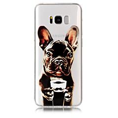 tanie Galaxy S6 Etui / Pokrowce-Kılıf Na Samsung Galaxy S9 S9 Plus Wzór Czarne etui Pies Miękkie TPU na S9 Plus S9 S8 Plus S8 S7 edge S7 S6 edge S6