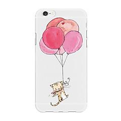 Недорогие Кейсы для iPhone X-Кейс для Назначение Apple iPhone X iPhone 8 Plus С узором Кейс на заднюю панель Воздушные шары Мультипликация Животное Мягкий ТПУ для