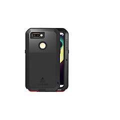 お買い得  その他のケース-ケース 用途 OPPO R11s 水/汚れ/ショックプルーフ フルボディーケース 純色 ハード メタル のために Oppo R11s